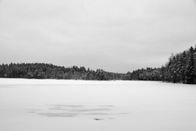 Frozen Kovero Lake