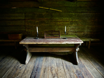 The table of the Parsonage at  Turkansaari