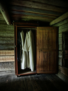 The wardrobe of Parsonage at  Turkansaari