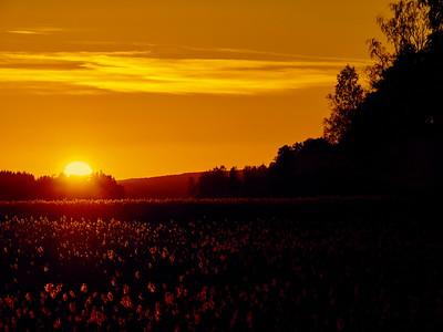 Sunset over Kulovesi